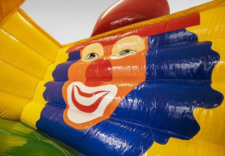 Mega Glijbaan Clown