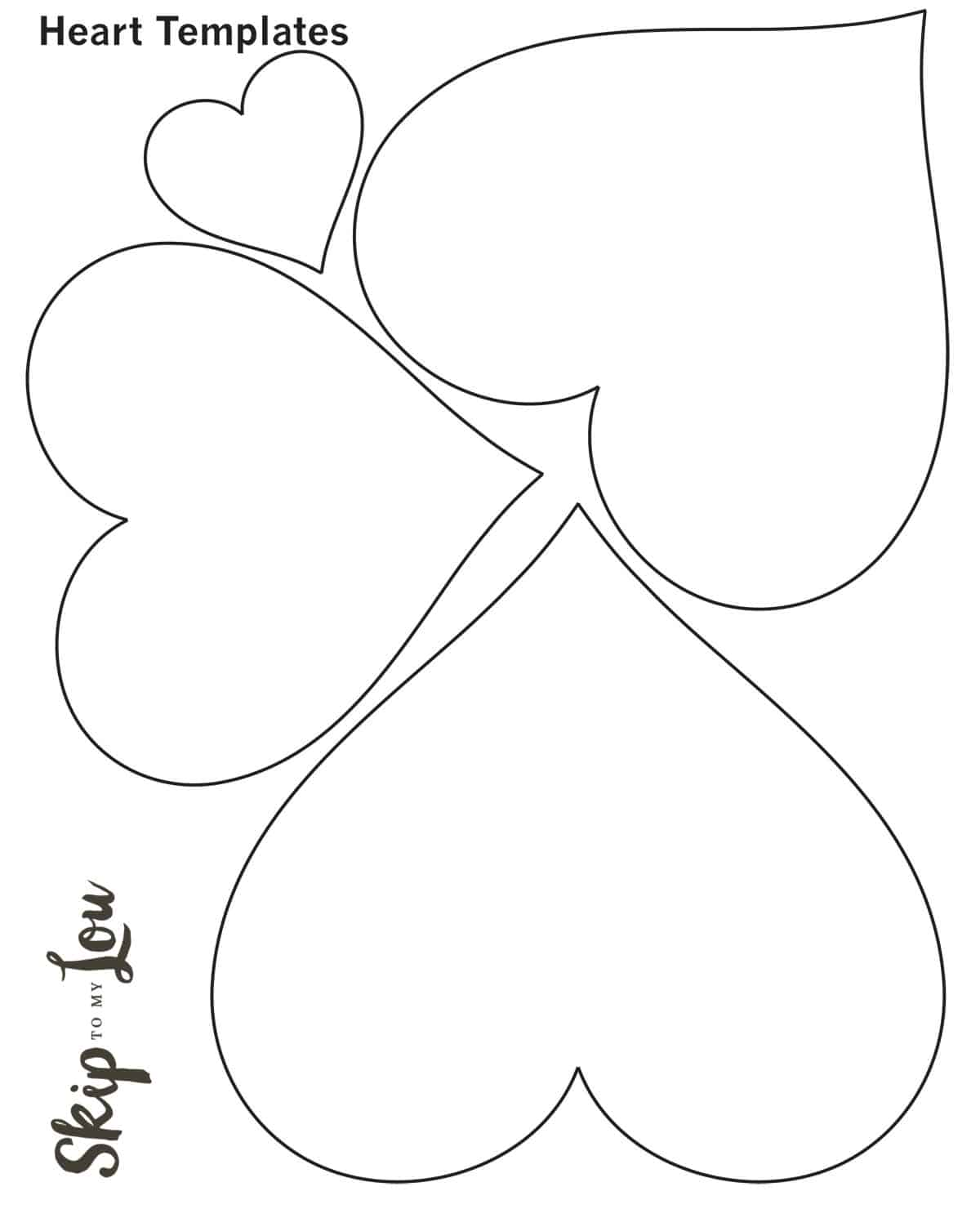 Heart Patterns Worksheet For Preschoolers