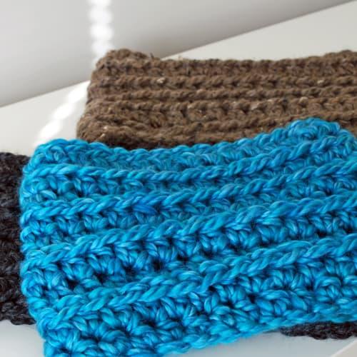 Easy Crochet Kids Cowl Skip To My Lou