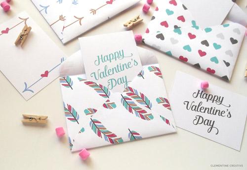 Printable Valentine Mini Envelopes And Cards Skip To My Lou