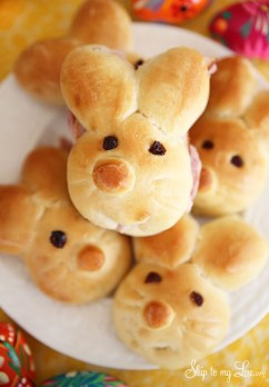 how to make bunny rolls