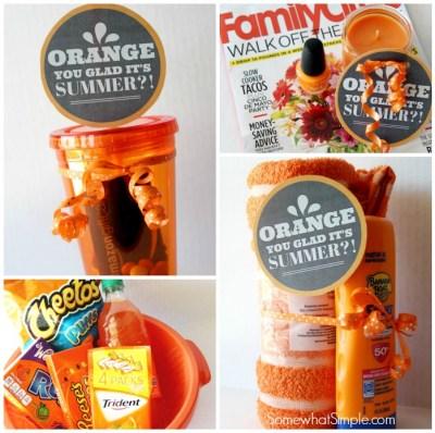 Color Themed Gifts Orange Box Orange Things Orange You Glad