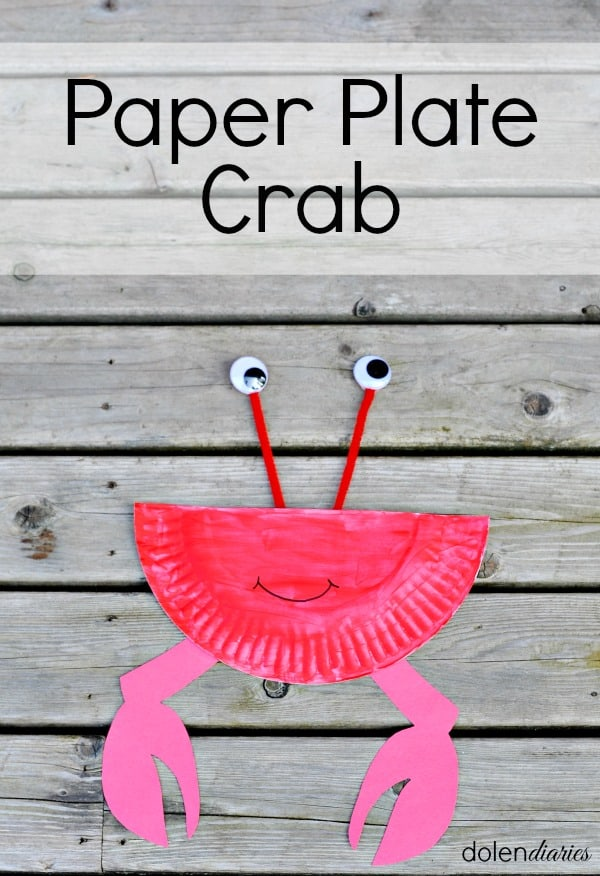 Paper Plate Crab Skip To My Lou