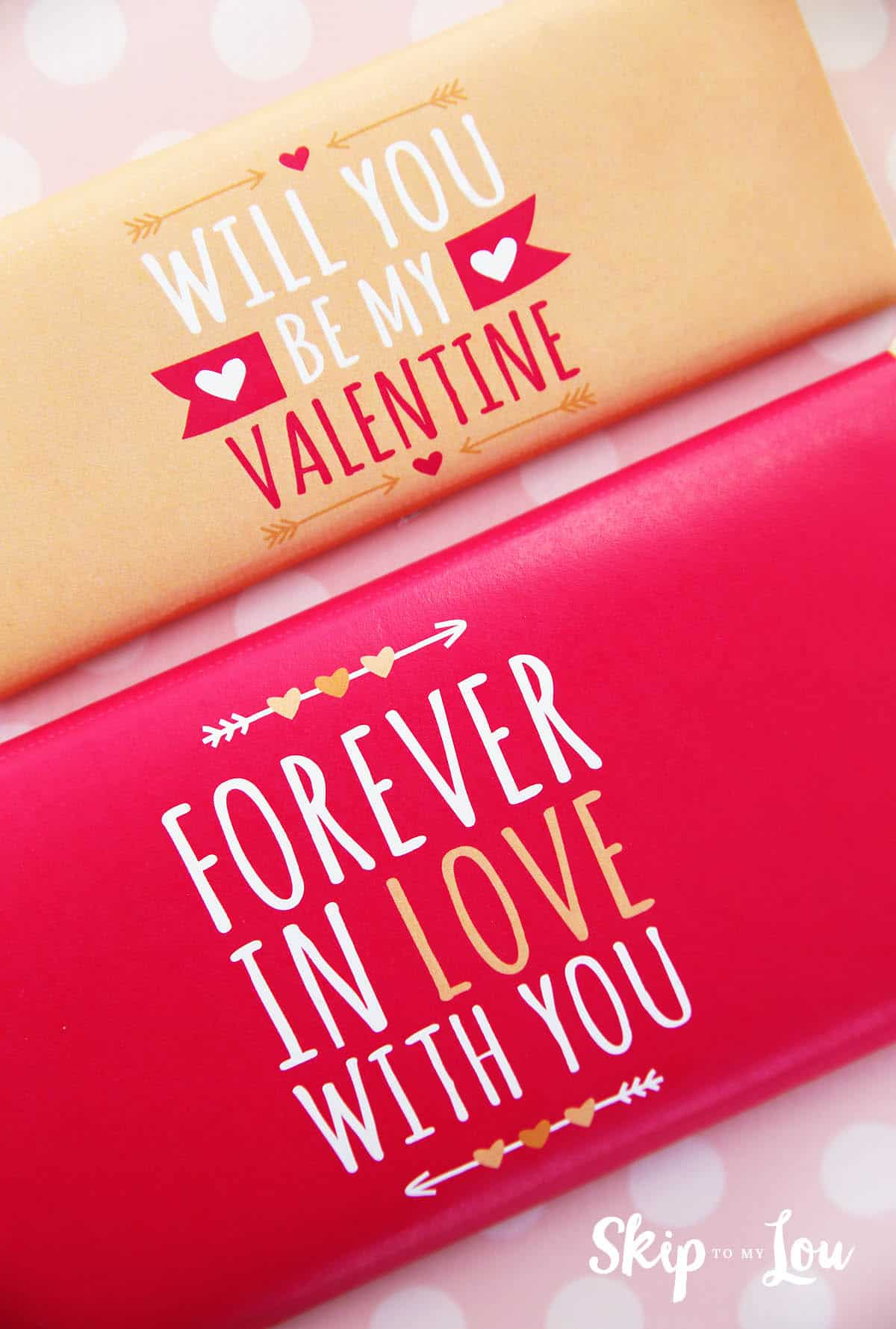 Printable Valentine Candy Bar Wrapper