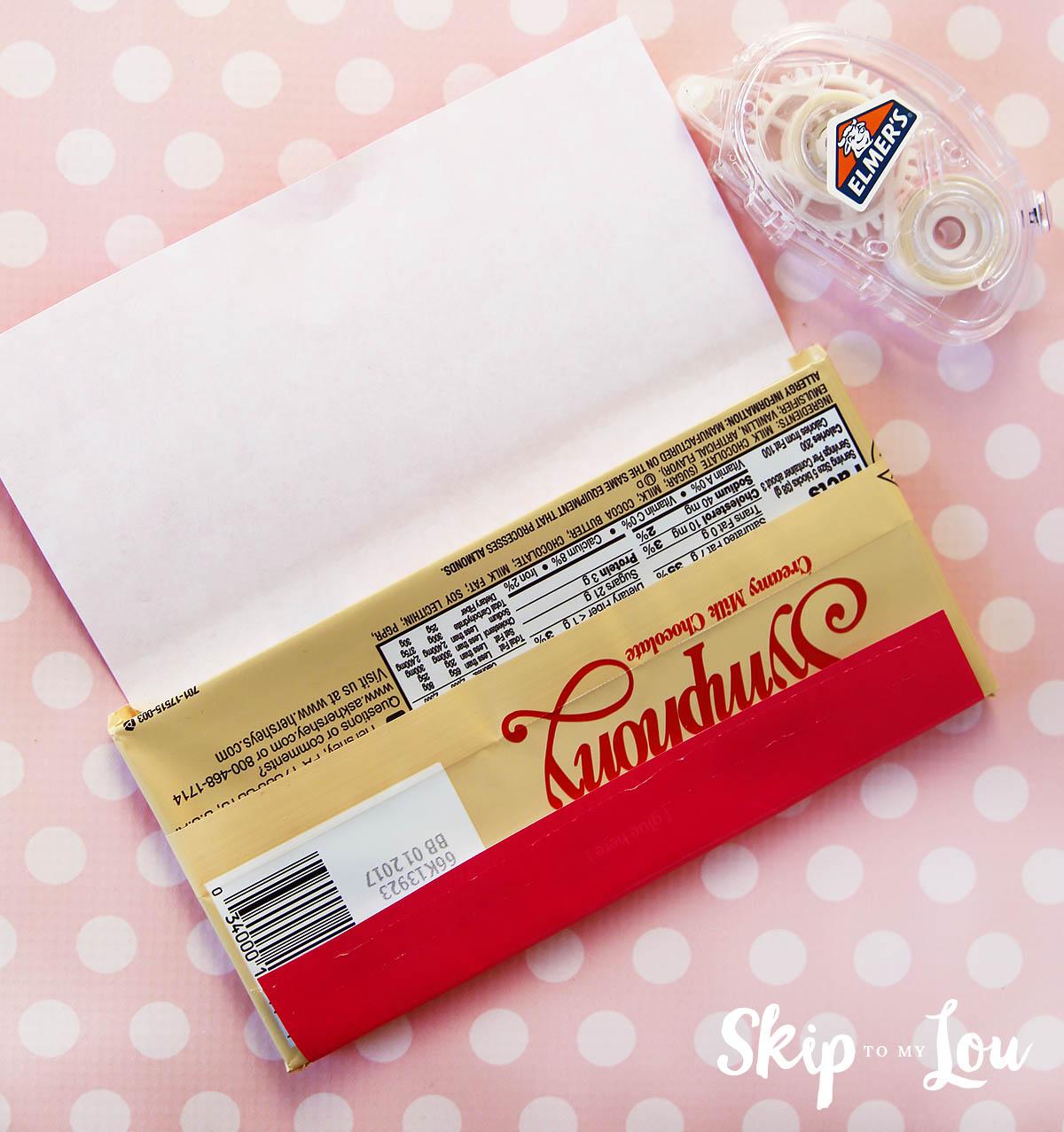 Printable Valentine Candy Bar Wrapper