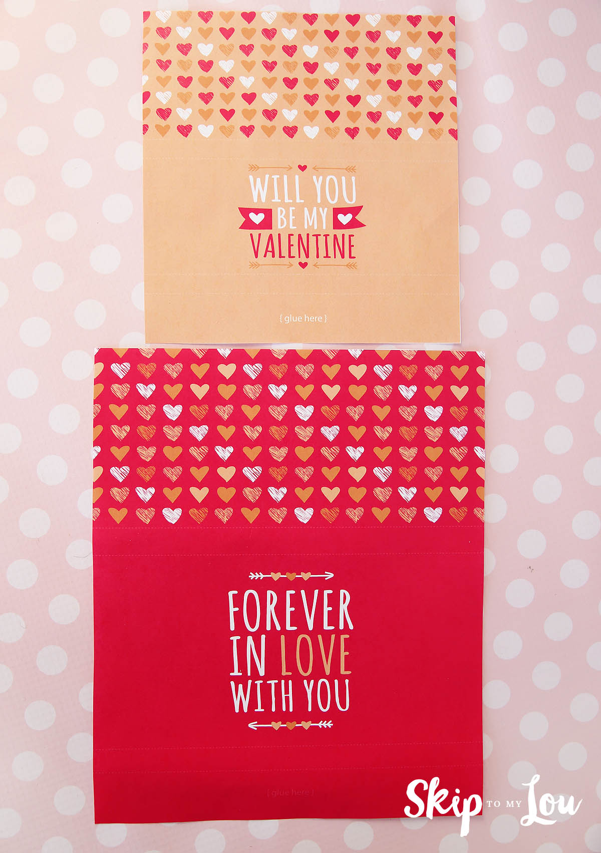 Printable Valentine Candy Bar Wrapper Skip To My Lou