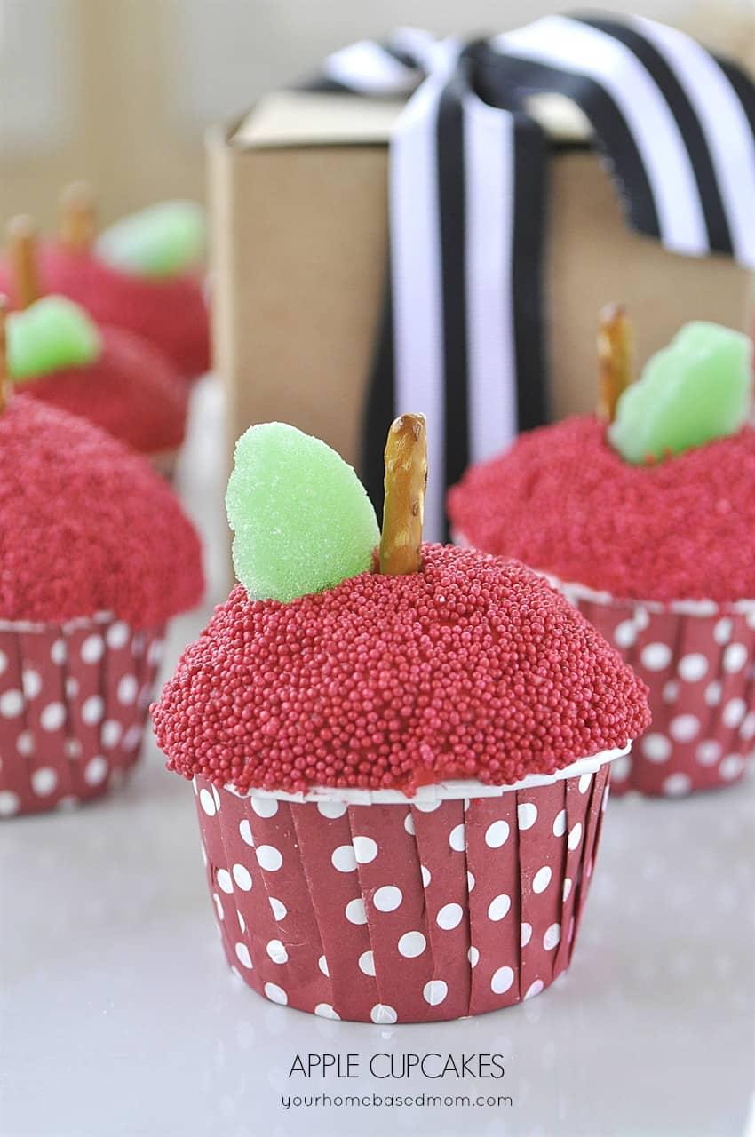 Apple Cupcakes Skip To My Lou