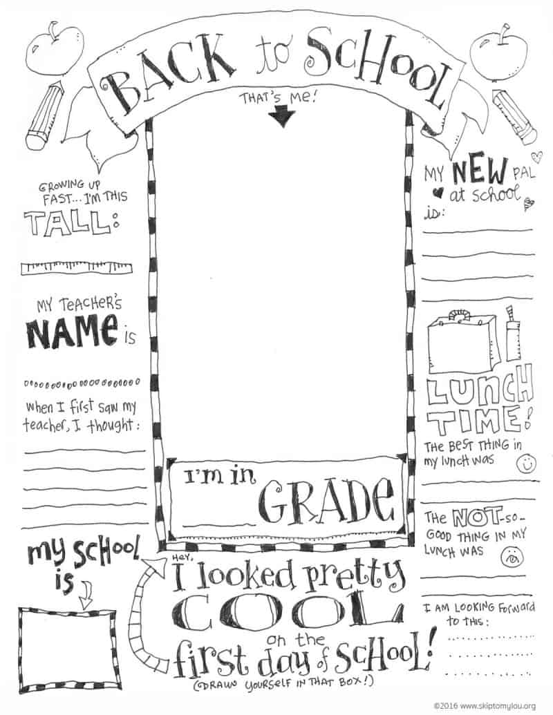 First day of school coloring sheets for kindergarten for Coloring pages back to school theme