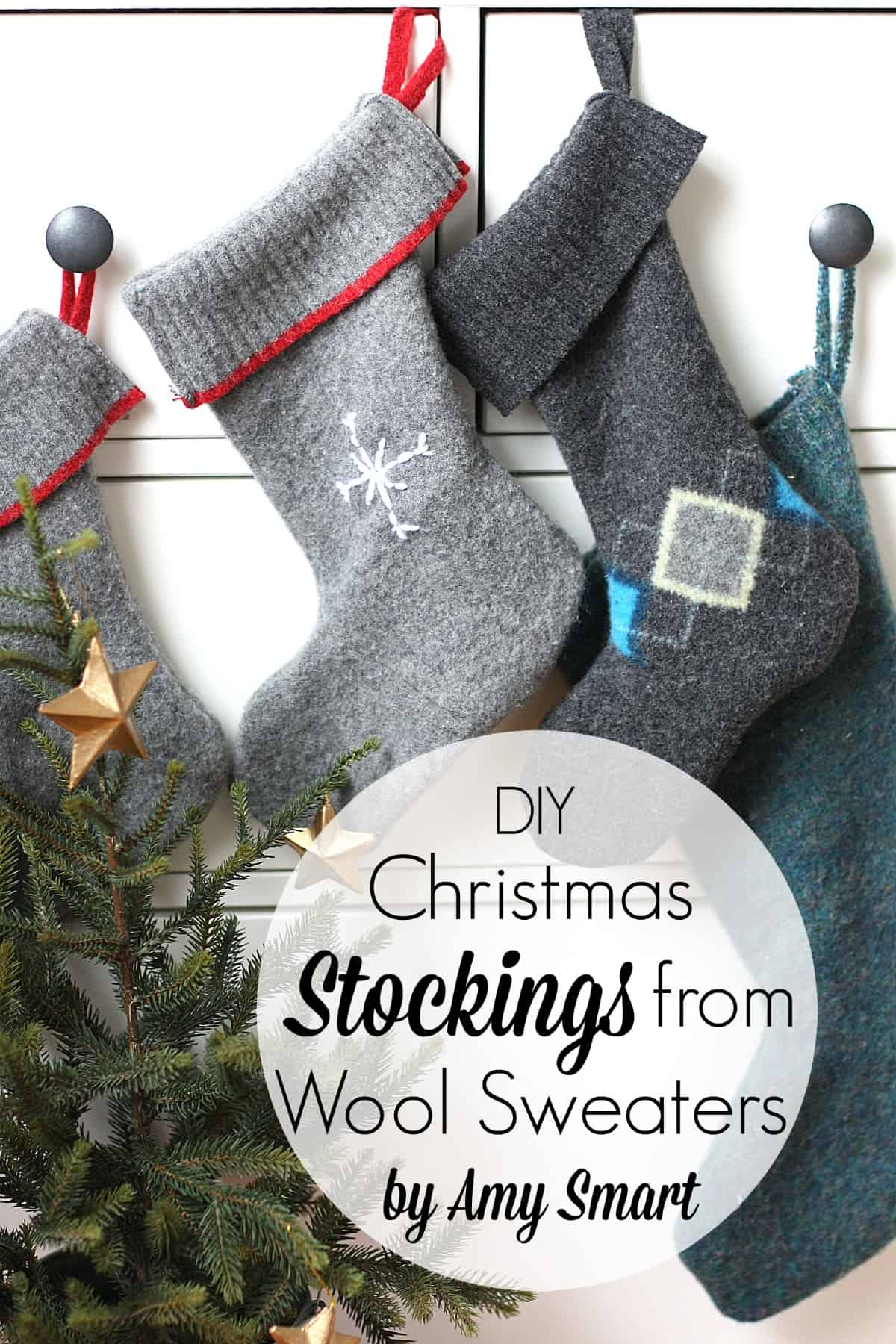 Easy Stockings From Old Sweaters Skip To My Lou