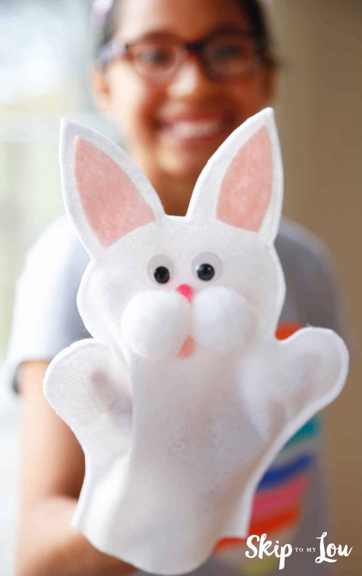 Make Easter Fun With This Cute Bunny Puppet