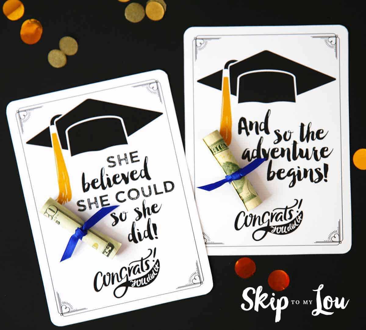 Free Graduation Cards With Positive Quotes And Cash