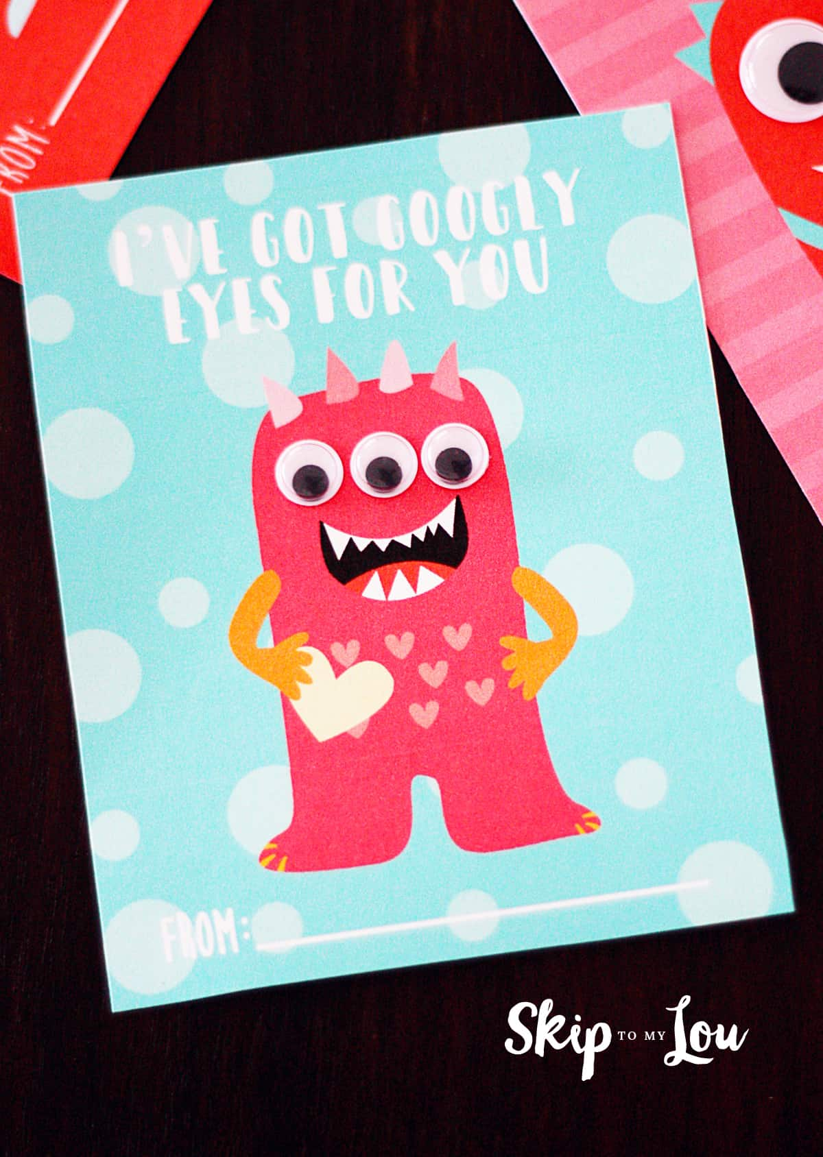 Monster Valentines For Kids Skip To My Lou