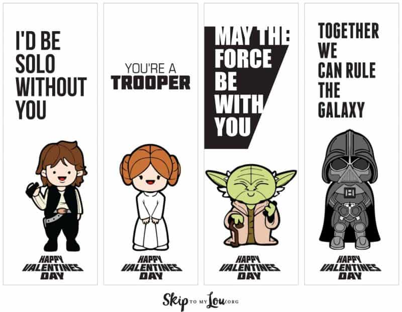 Star Wars Valentines With Lightsabers Skip To My Lou
