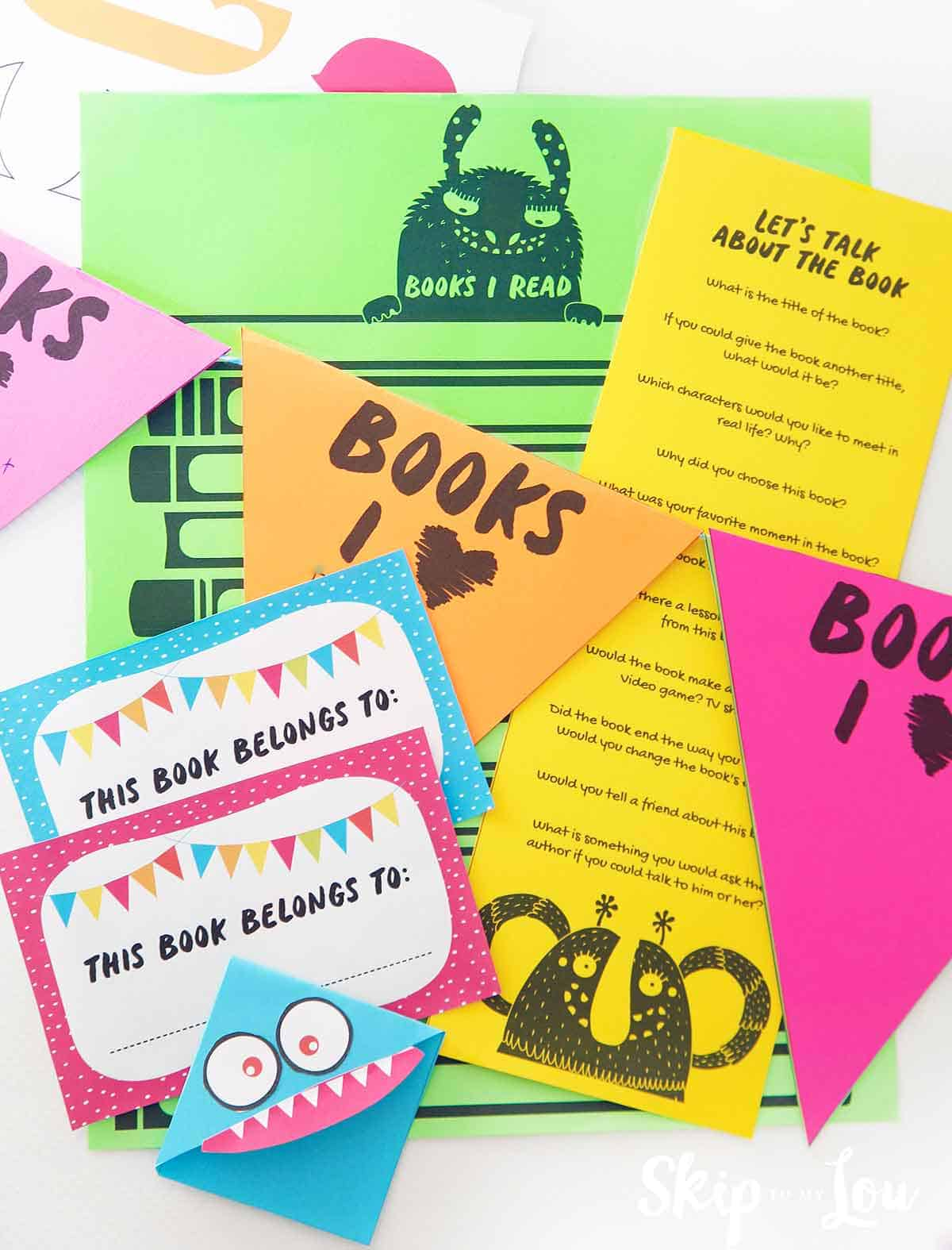 Fun Printables For A Kids Book Club
