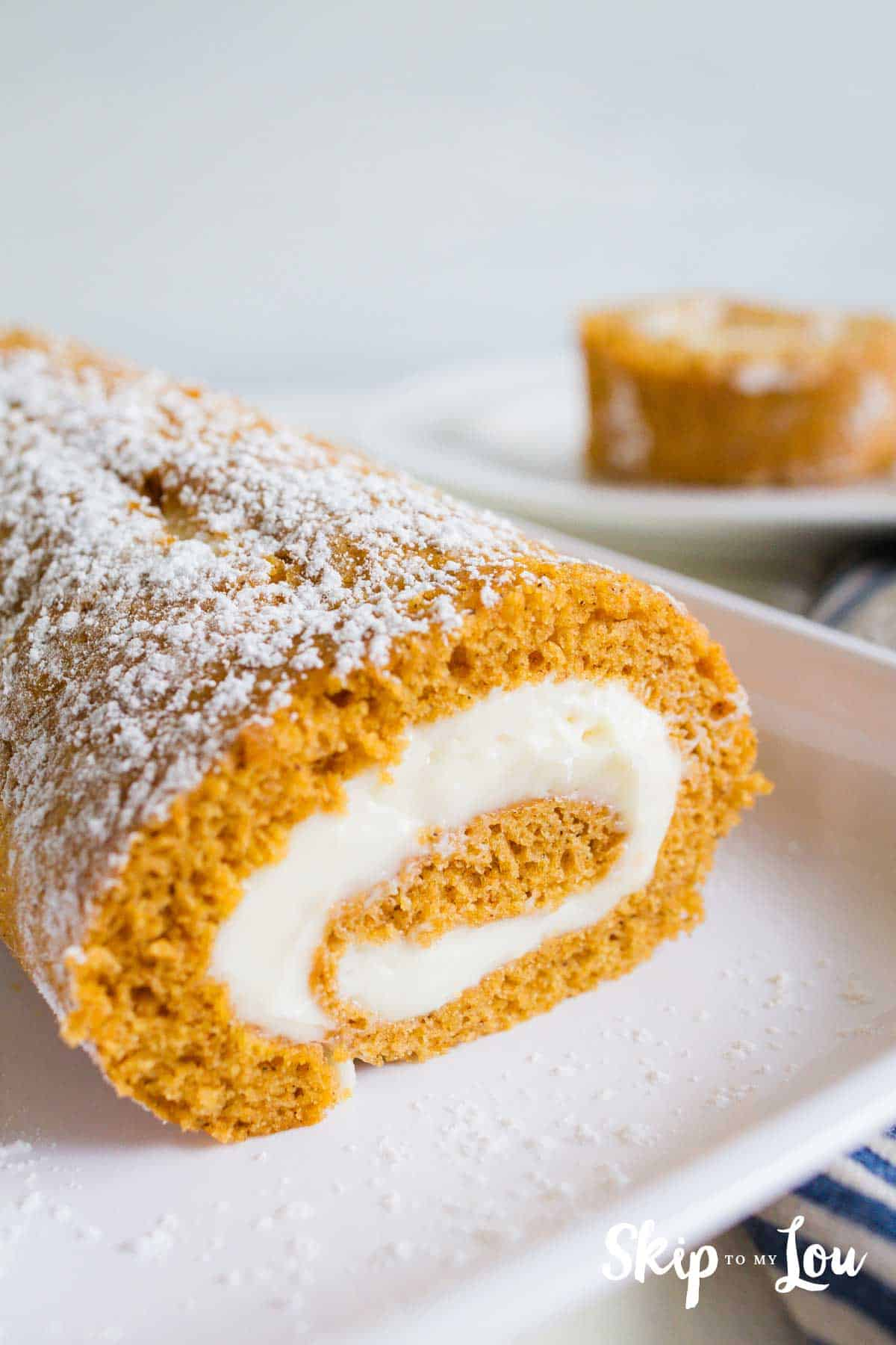 The Best Pumpkin Roll Recipe With Step By Step Instructions