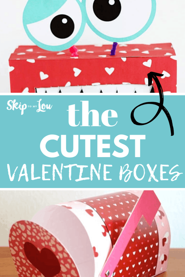 valentine boxes diy PIN