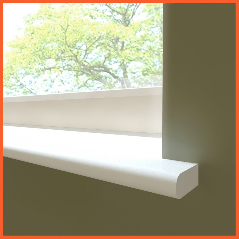 Window Board Bullnose Moisture Resistant MDF