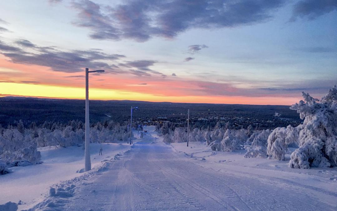 Koe Suomen pisin pulkkamäki