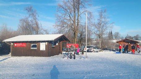 Büro in der Snow-World-Züschen