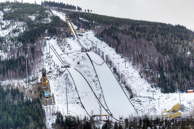 Skocznie Čerťák w 2013 roku|© berkutschi.com