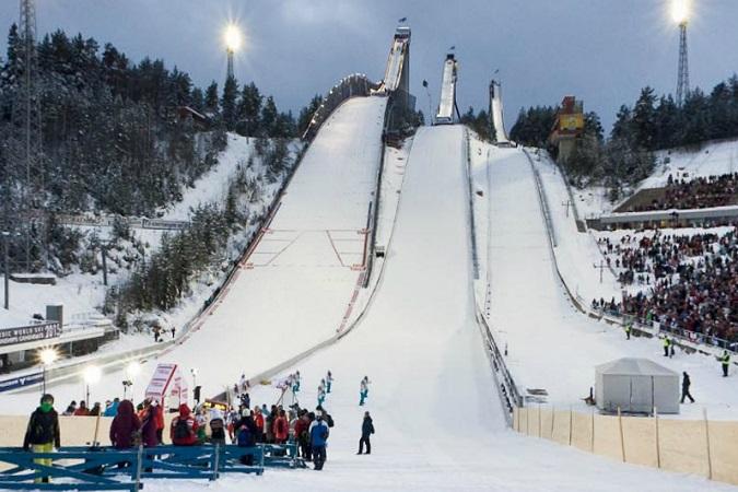 Kompleks skoczni Salpaussalkä|© Lahti Ski Games