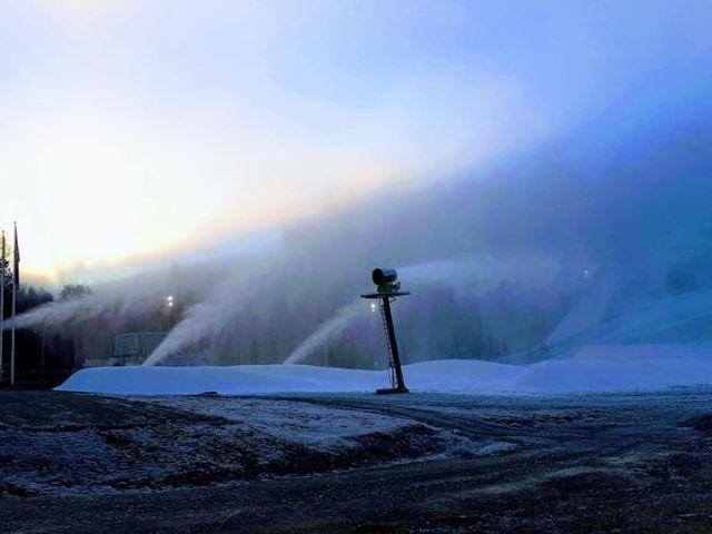 Sne i Vallåsen