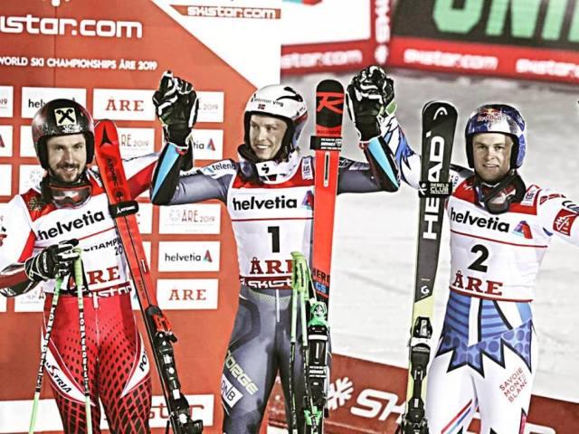 Norsk sejr i storslalom ved Alpin VM i Åre
