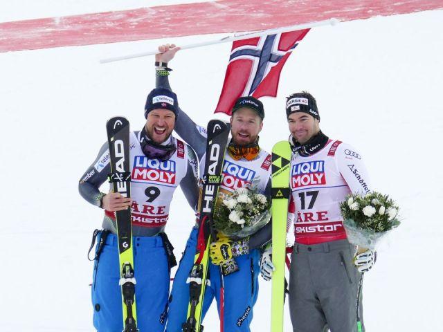 Dobbelt norsk sejr ved styrtløbs VM. Dansker nr. 22