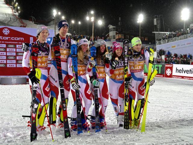 Guld til Schweiz ved VM i Åre