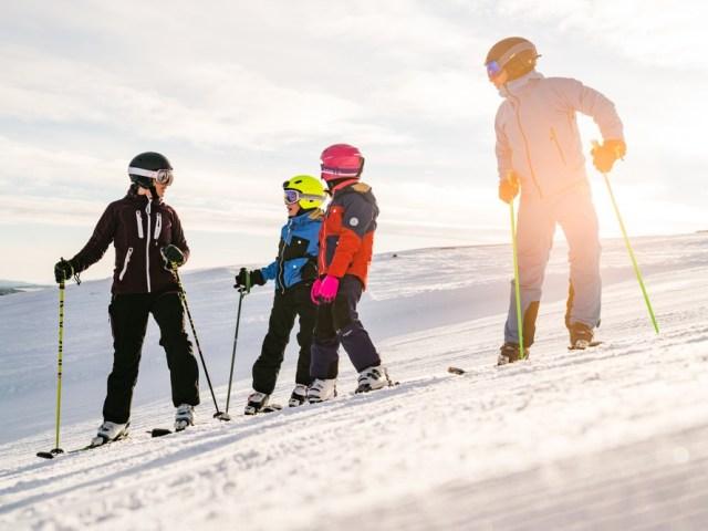 Bedste sneforhold i Tänndalen i ti år