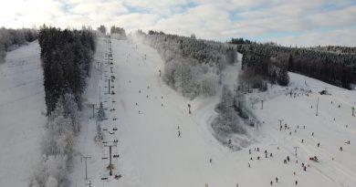 130 cm sne i Vallåsen