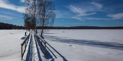 Vintern på Bysjön