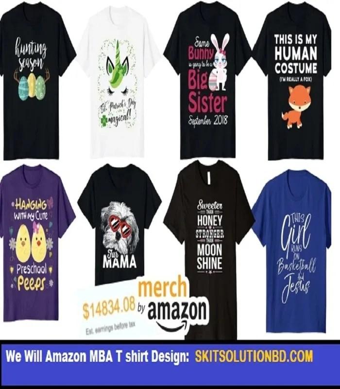 Amazon MBA T shirt Design