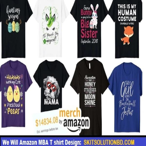 Amazon MBA T shirt Design