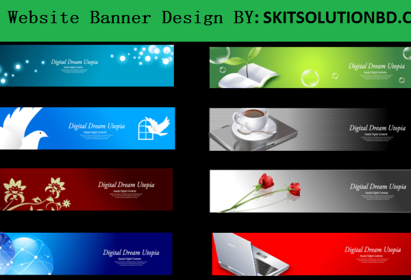 website banner design service