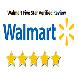Walmart Five Star Verified Review