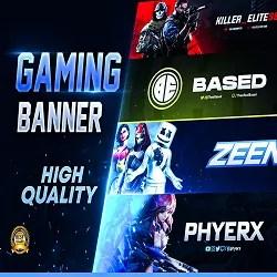 Twitch Banner Design