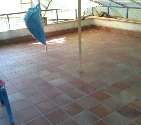 Terrassenbodenerneuerung