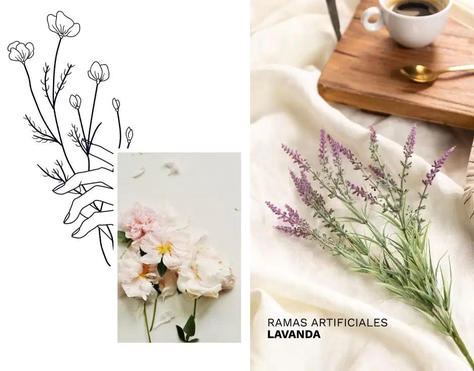 flores decoracion tendencia
