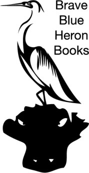 Lg Brave Blue Heron Books