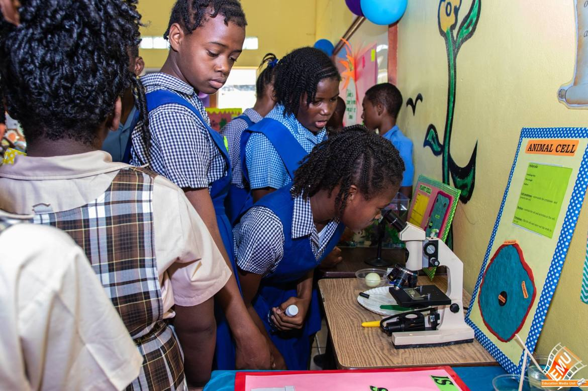 SKN Students at a Science Fair