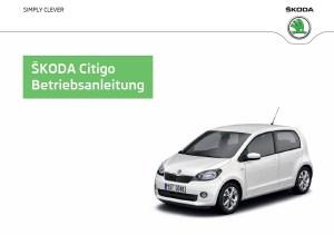Skoda Citigo Betriebsanleitung