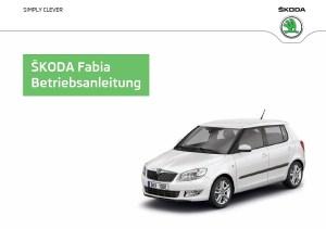 Skoda Fabia Betriebsanleitung