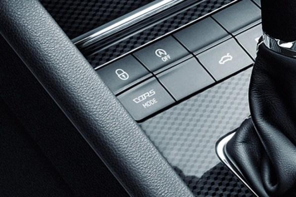 Fahrprofilauswahl für den Octavia RS