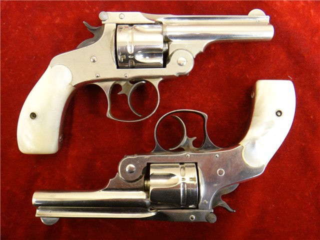 S&W TOP BREAK DA 2ND MODEL 38S&W
