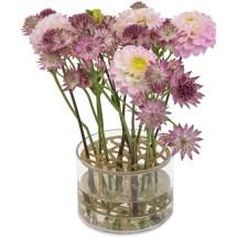 Genial blomstervase - sett en og en blomst i mønsteret!