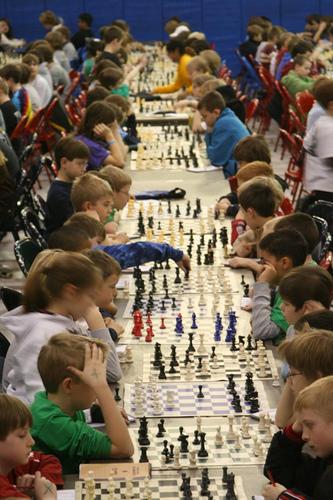 Sjakk,  OL  og  skole