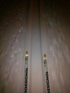 Breidde  på  skispor?