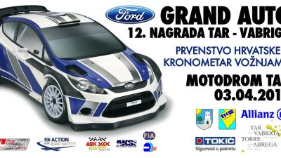 Ford Grand auto - 12. Nagrada Tar-Vabriga 2016