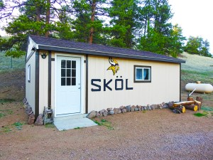SKOL Ranch Shed Accommodations